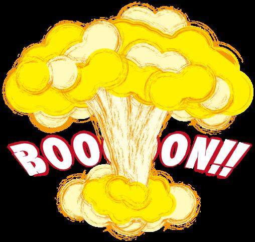 アメリカンな爆発
