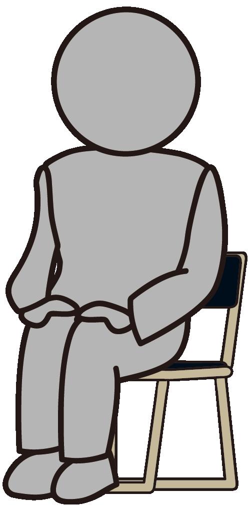 椅子に座ったその他大勢「何者か」