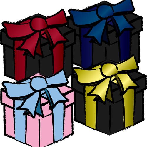プレゼントボックス9種