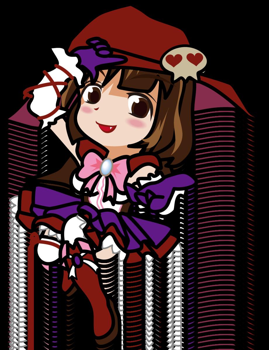 ハロウィン系魔法少女(?)「むこりん」