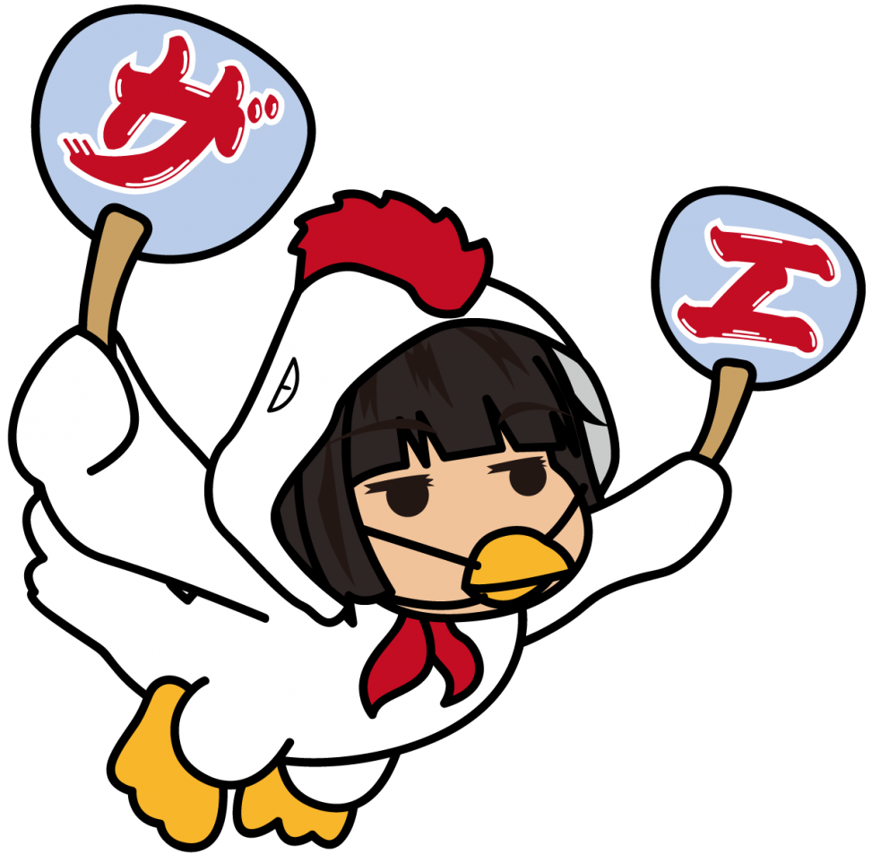 ニワトリ(座敷あらし)