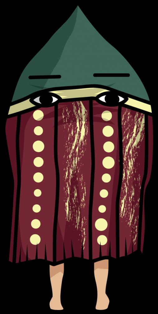 セルクナム族「タヌ」の想像図