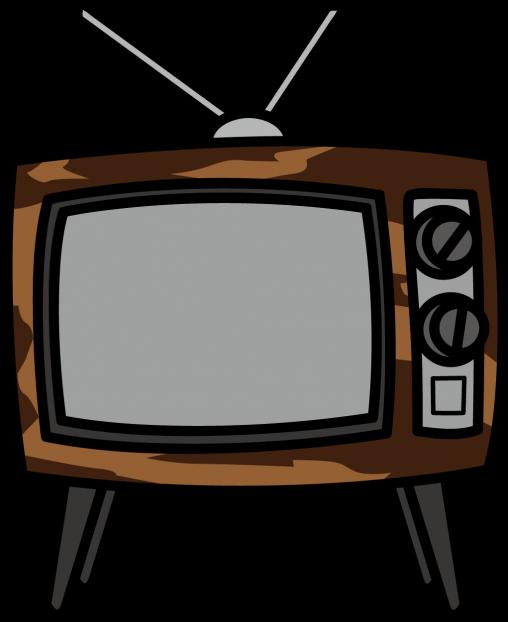 木製のブラウン管テレビ