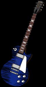 レスポール(青)
