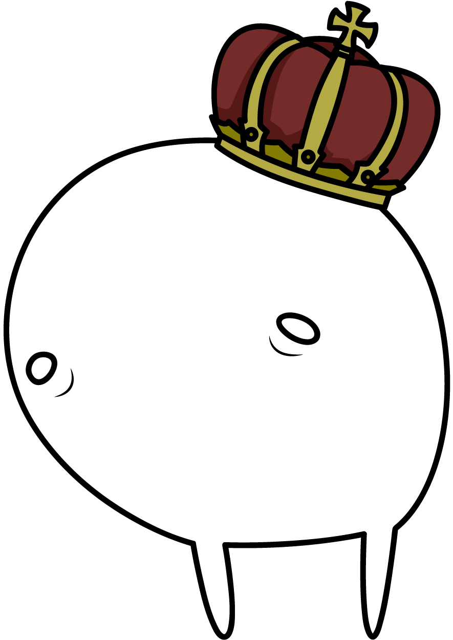 王冠をかぶった亡霊