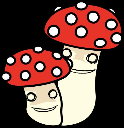 双子キノコ