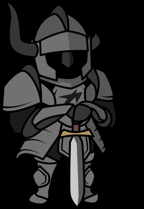 屈強な鎧騎士