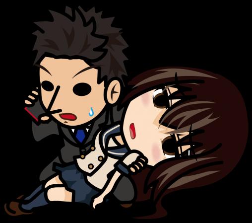 倒れている女子高生を抱えて緊急通報するビジネスマン「あーたむ×とびぃ」