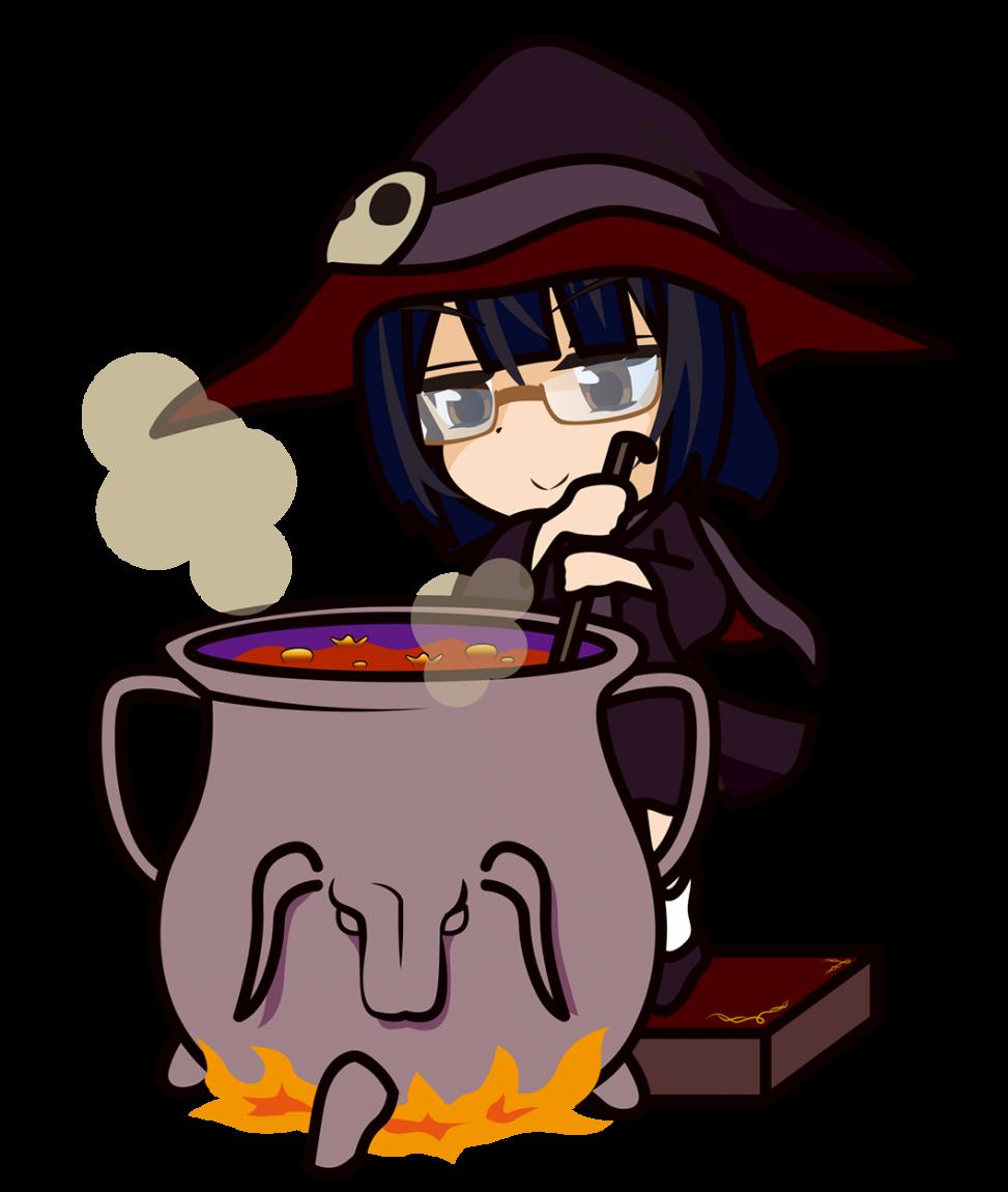 カレーを煮込む魔女「みーたむ」