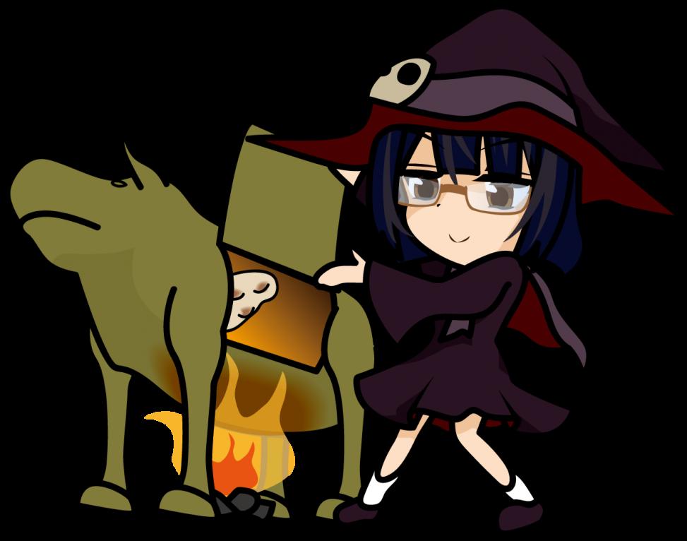 ファラリスの雄牛でナンを焼く魔女「みーたむ」