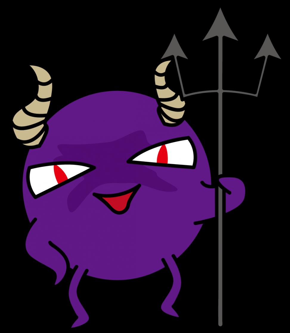 不敵に笑う悪玉菌