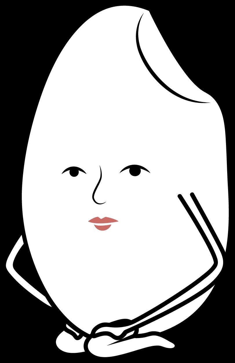正座した白米