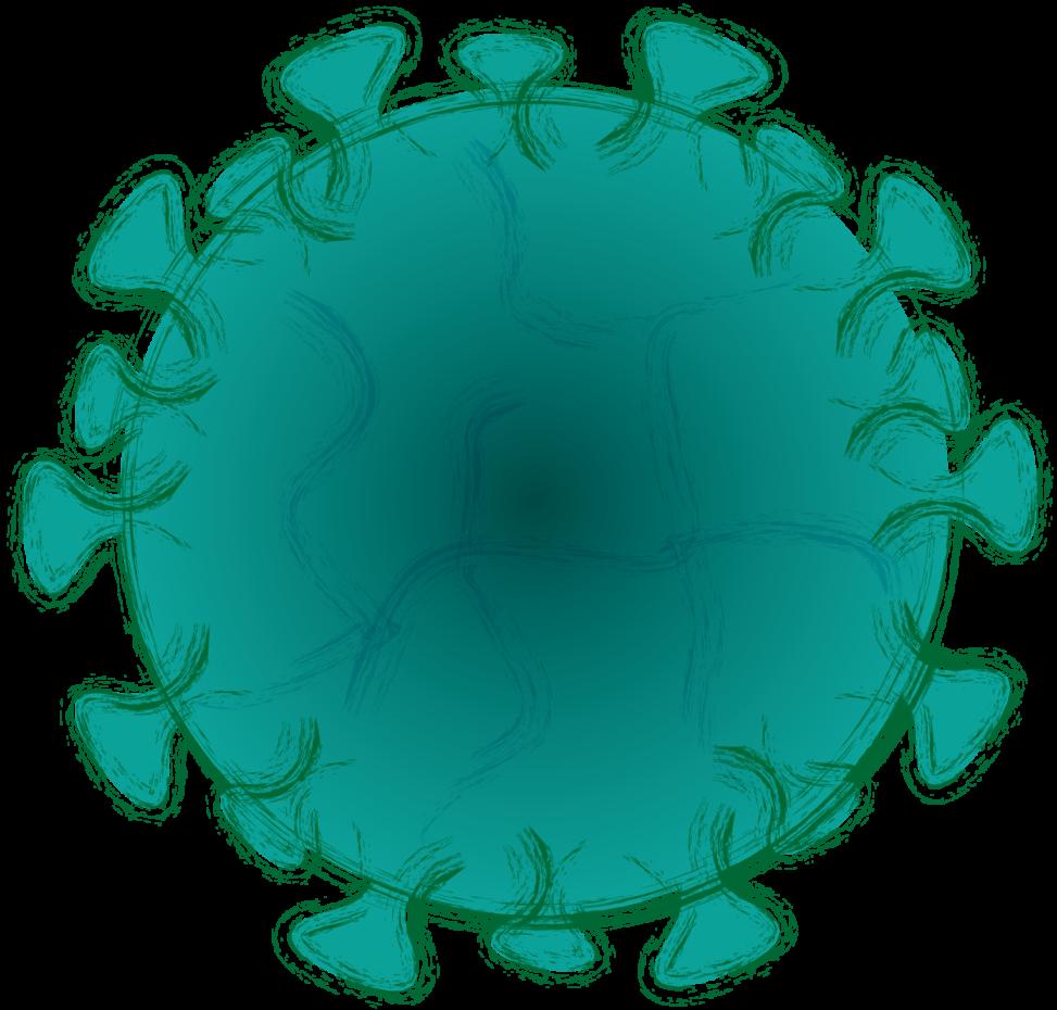 緑色のウイルス
