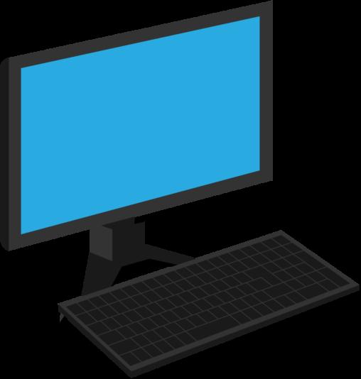 デスクトップパソコン(黒)