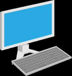 デスクトップパソコン(白)