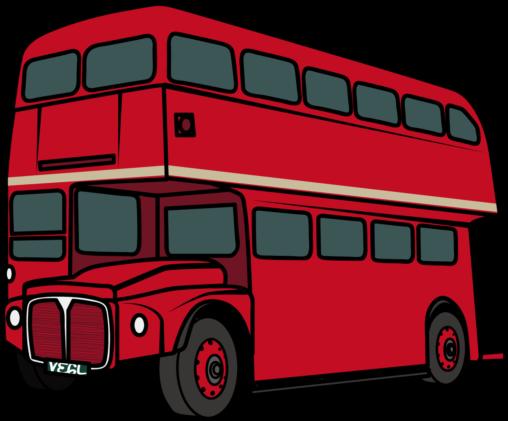 赤いロンドンバス